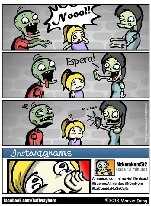 zombies modernos