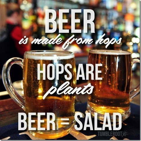 funny beer image It's Good for You!