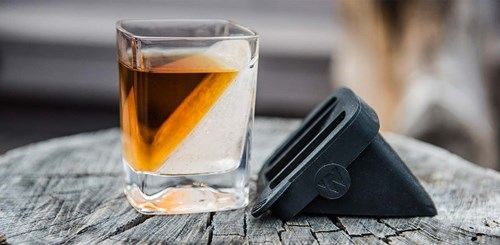 drinking cool accessories image It's Like a Ramp for Your Whiskey