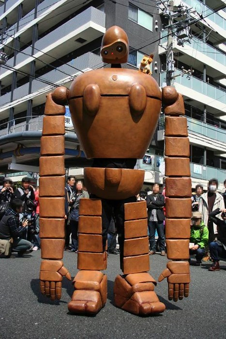 cartoon memes castle in the sky robot cosplay