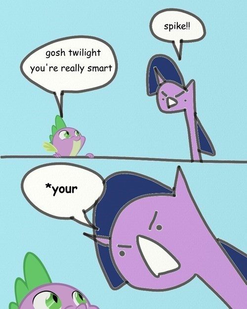 my-little-brony-twilight-sparkle-grammar-princess-spike