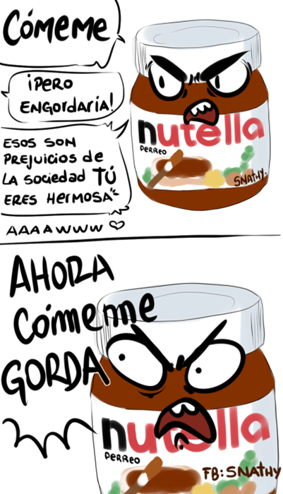 come nutella