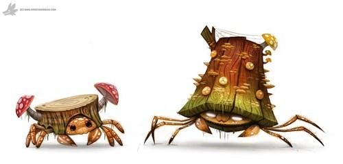 Crustacean - w .c