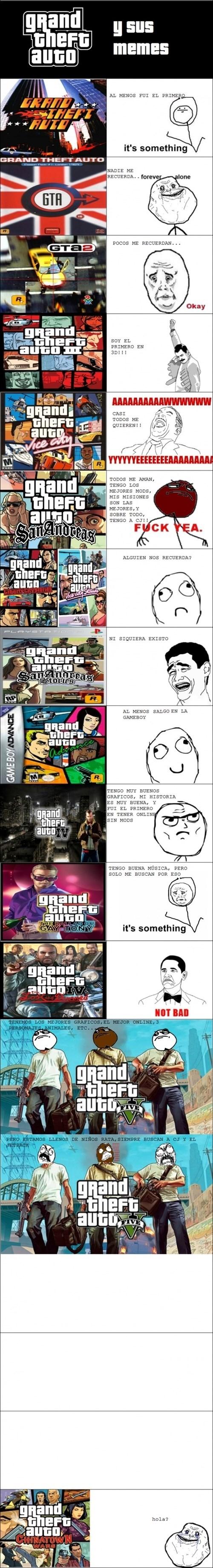 GTA en la historia