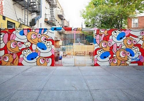epic-win-pic-ren-stimpy-street-art