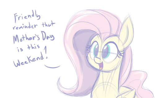 mothers day reminder fluttershy - 8489664000