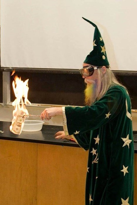 school wizard image Chemistry Just Got Interesting