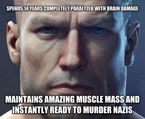 Some issues with the logic of Wolfenstein.