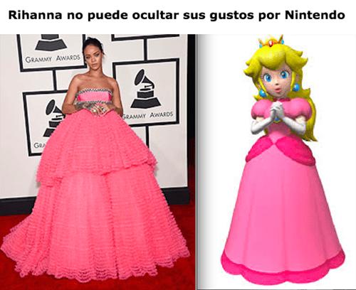 Rihanna y Nintendo