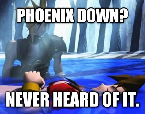 Logical issues with Final Fantasy VII video game