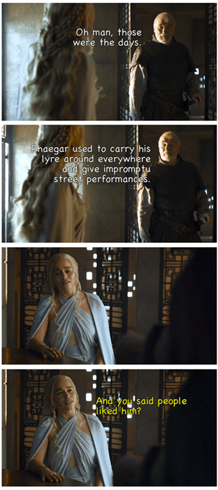 Game of Thrones memes everyone hates Rhaegar.