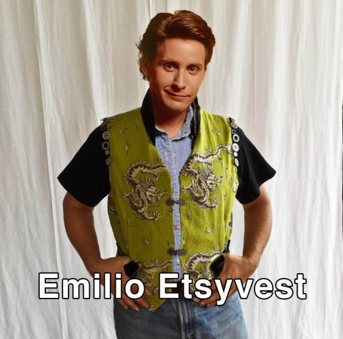 This Emilio Estevez joke is terrible.