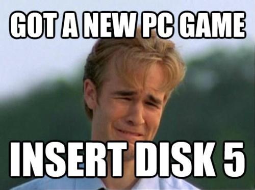 Internet meme - GOTANEW PC GAME INSERT DISK 5