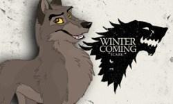 Cartoon - WINIER COMING STARK