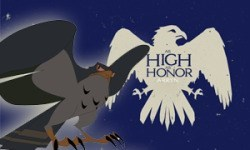Cartoon - HIGH HONOR