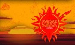 Red - UNBOWED UNBENT UNBROKEN MARTELL