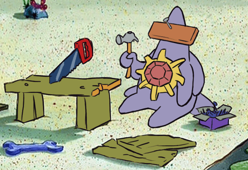 crossover SpongeBob SquarePants Starmie - 8490367744