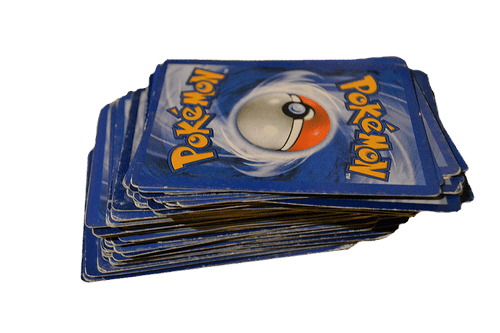 school,pokemon cards