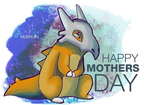 Sad cubone mothers day - 8490912768