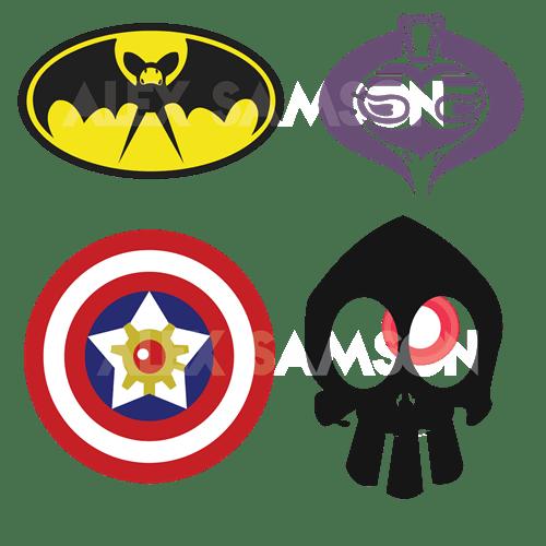 pokemon memes dc comics pokemon logos