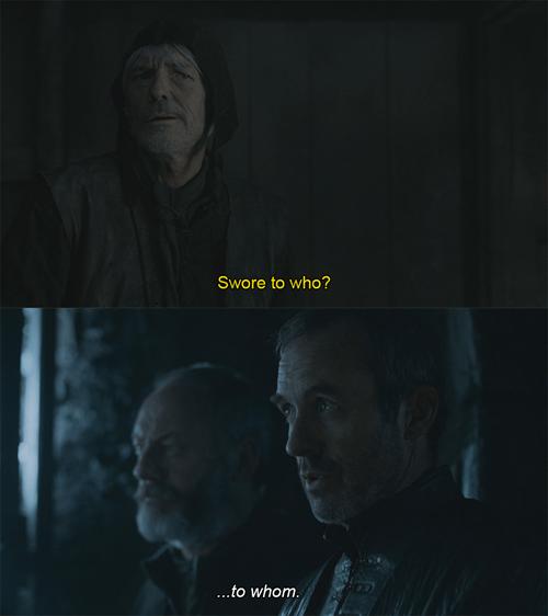game of thrones memes Stannis the grammar nazi returns