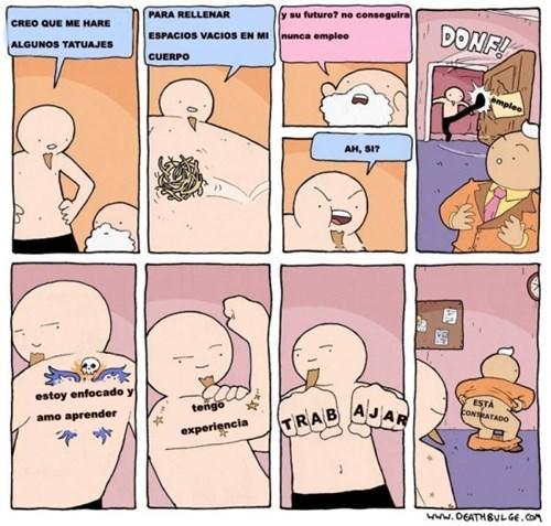 tatuajes aceptables