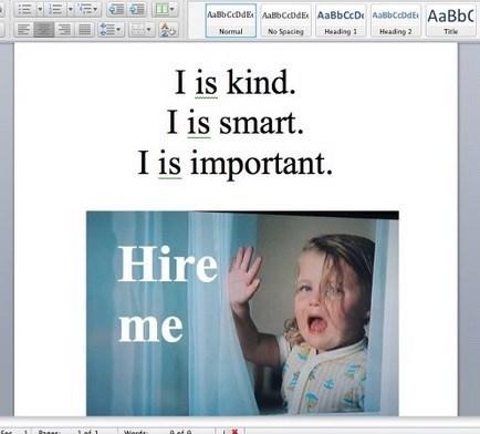 work job hunt image Great Cover Letter