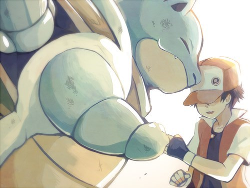 video games geek blastoise Fan Art - 8491855104