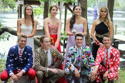 school prom image That's One Way to Make Prom Night Memorable