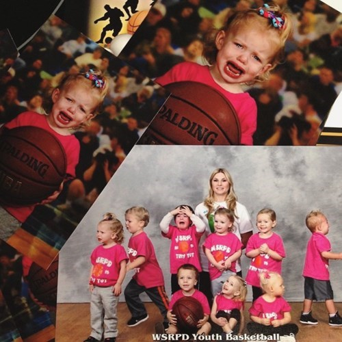 funny school picture She's Just Passionate About the Game
