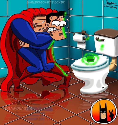 Superman troleado