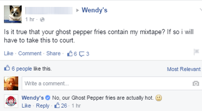 funny-facebook-fail-wendys-fire-mixtape