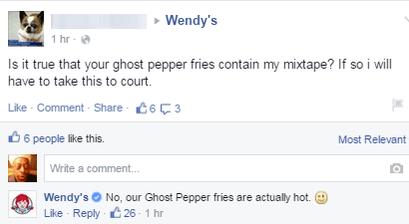 funny-facebook-fail-wendys-fire-mixtape