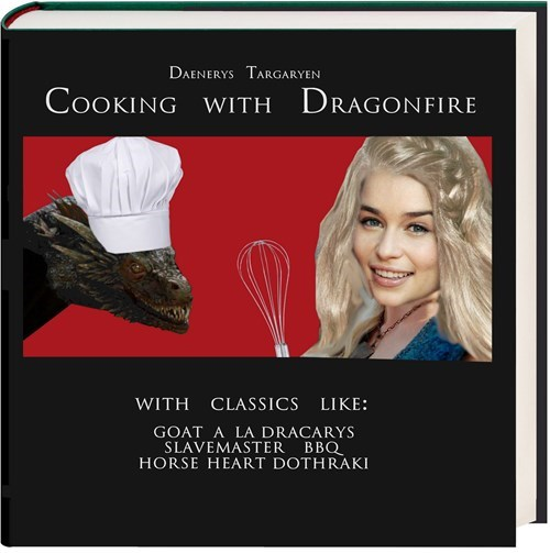 cooking Game of Thrones dragons season 5 daenarys targaryen - 8492497664
