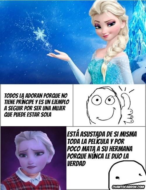 El lado oscuro de Elsa