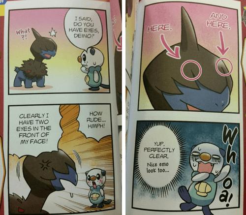 pokemon memes deino eyes