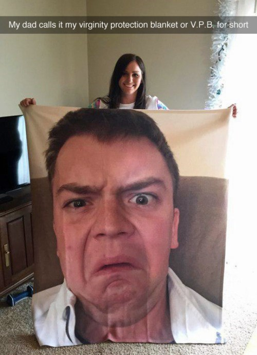 funny dad blanket You Won't Need Anything Else to Keep You Warm at Night