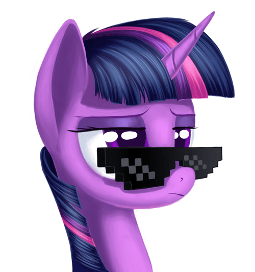 cool shades,bro,Deal With It,twilight sparkle