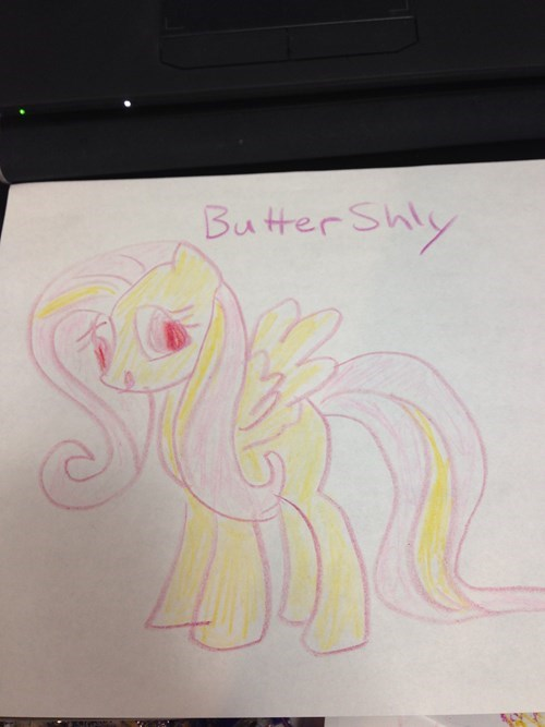 butter Close Enough fluttershy - 8492870144
