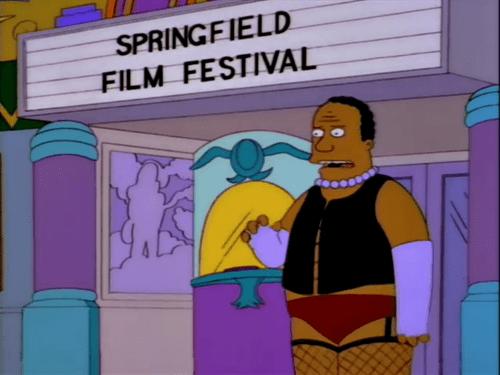 Cartoon - SPRINGFIELD FILM FESTIVAL