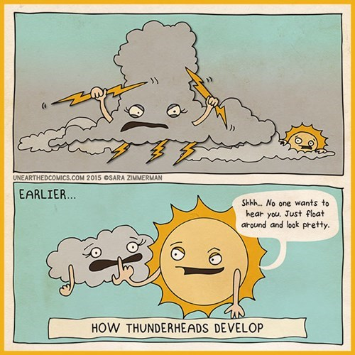 thunder,makes sense to me,sun,web comics