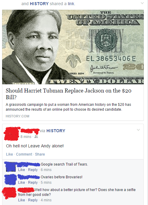 funny-facebook-fail-harriet-tubman-money