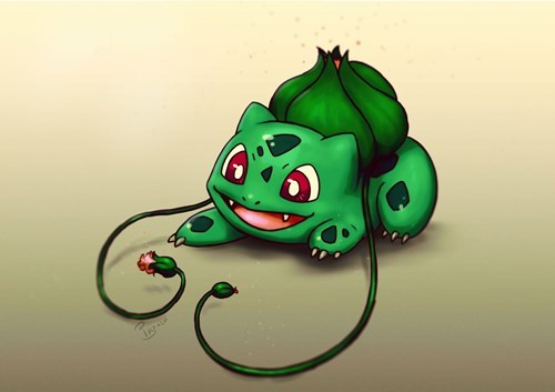 pokemon memes bulbasaur fan art