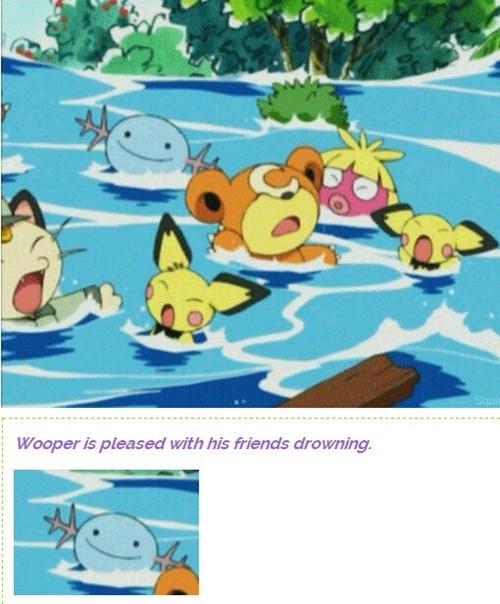 pokemon memes wooper drowning