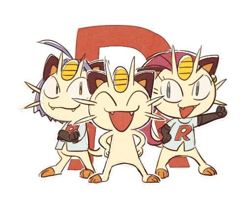 pokemon memes meowth team rocket