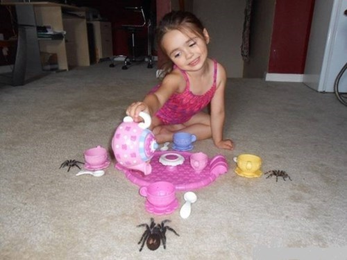 parenting tea party image Terrifying Tea Party Guests