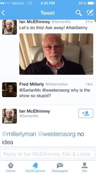 Game of thrones memes season 5 barristan selmy doesn't know why the show's so stupid.