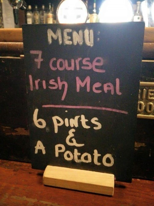 funny beer sign Can I Substitute the Potato for Beer?