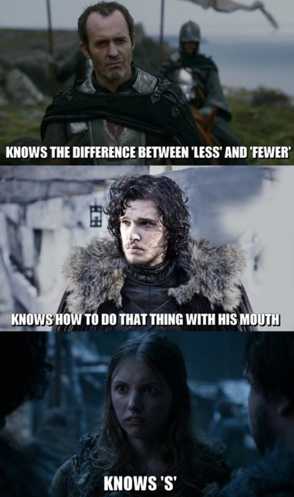 game of thrones memes season 5 Gilly needs some help to get there.