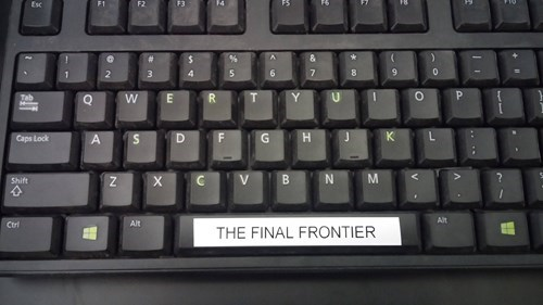 funny keyboard image Space!